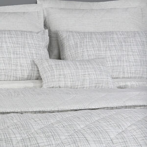 Mono Twine Grey Cushion 30cm x 50cm