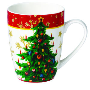 Love Christmas Xmas Tree Mug