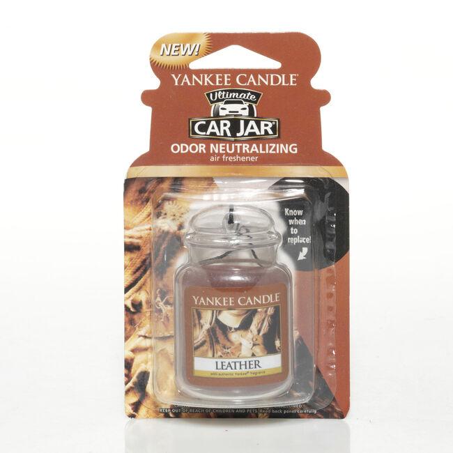 Yankee 3D Car Jar Leather