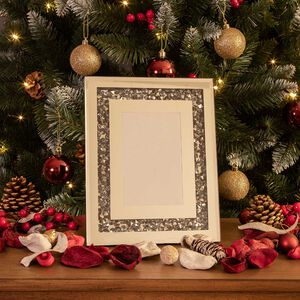 Cashel Living Crushed Diamond Photo Frame