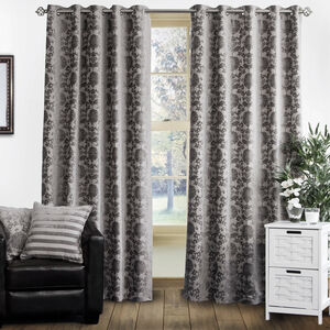 SHELBOURNE SILVER 66x72 Curtain
