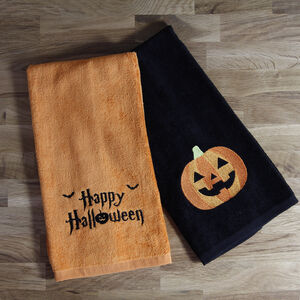 Happy Halloween 2Pk Tea Towels