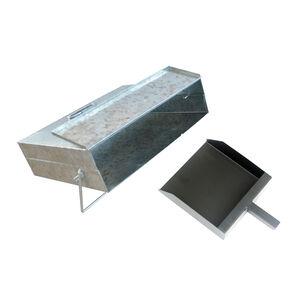 Ash Carrier with Shovel Zinc