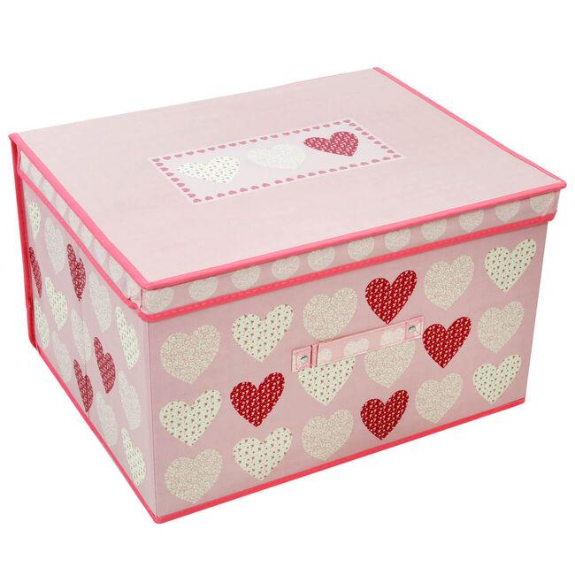 Hearts Blush Foldable Storage Chest
