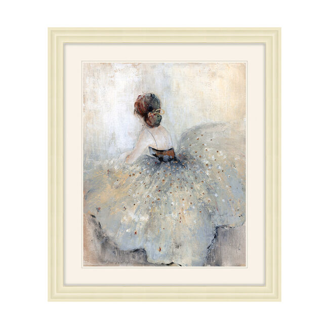 Framed Graceful Dancer 48x58cm