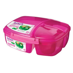 Sistema Triple Split Lunch Box