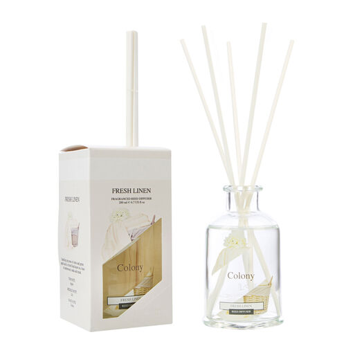 Colony Fresh Linen Reed Diffuser 200ml
