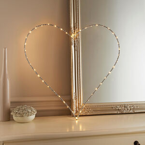 45 LED Decorative Wire Heart