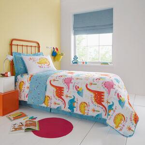 Sleepy Dinos Bedspread 200x220cm