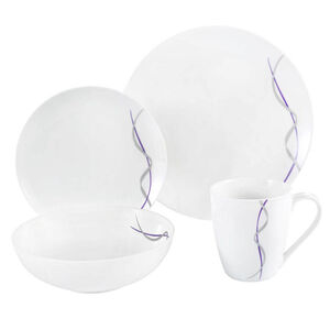 Ribbon 16 Piece Dinner Set