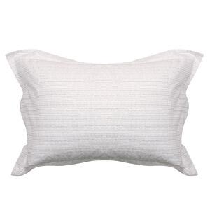 Mono Twine Grey Oxford Pillowcase Pair