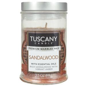 Tuscany 3.5Oz Candle Sandalwood