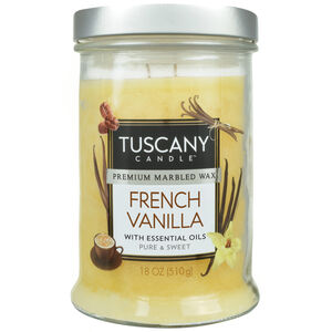Tuscany 18oz Candle French Vanilla