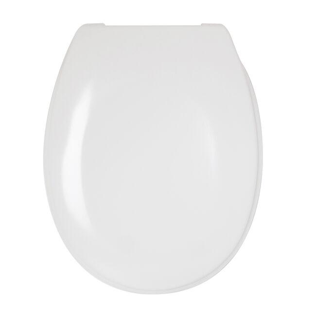 Slow Close Toilet Seat White