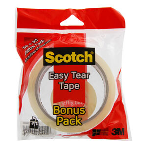 Scotch Easy Tear Tape & Free Bonus Roll