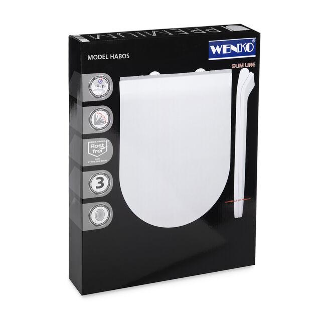 Wenko Slim Soft Close Toilet Seat