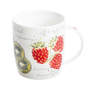 Fruit Market Fine China Mug