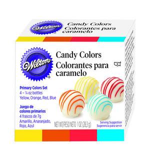 Wilton 4Pk Colour Candy Set