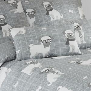 Pugtastic Cushion 30x50cm
