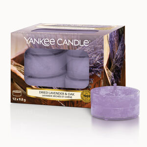 Yankee Candle Dried Lavender & Oak Tea Lights