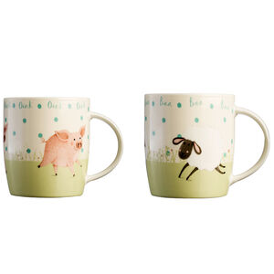 Price & Kensington Farmyard Animal Mug