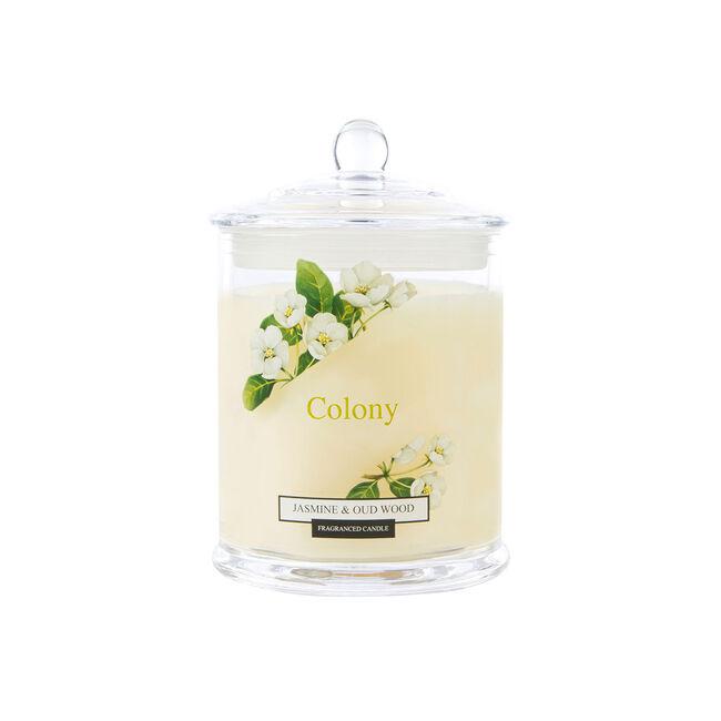 Colony Jasmine & Oudwood Candle 12.6oz