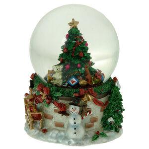 Musical Christmas Tree Snow Globe