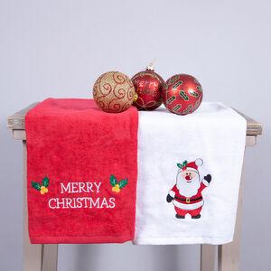 Santa Claus Tea Towel - 2 Pack