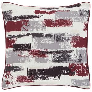 Painterly Cushion 45x45cm - Berry