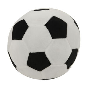 Football Cushion Black & White
