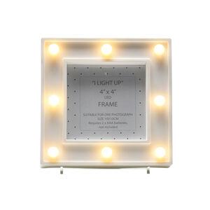 8 Led Light Up Photo Frame