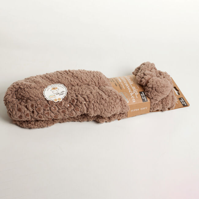 Premium Teddy Home Socks One Size