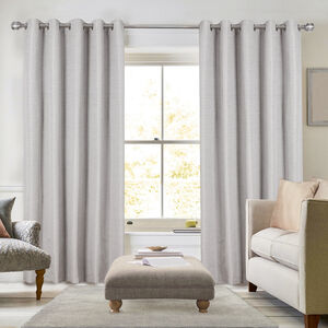 BLACKOUT & THERMAL STRIPE GREY  90X90 Curtain