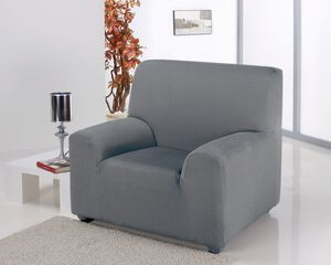 Easystretch Armchair Cover Light Grey