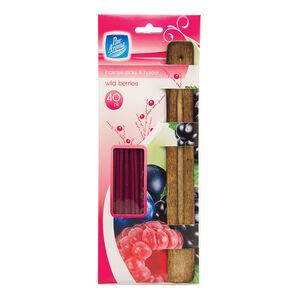Pan Aroma Incense Sticks &Holder Wild Berries