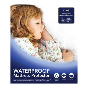 WATERPROOF TERRY SINGLE Mattress Protector