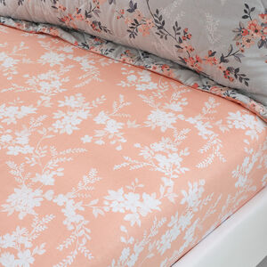 MAY GREY Single Fitted Sheet