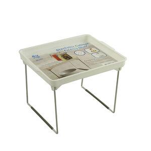 Storage Master Stackable Small Folding Shelf