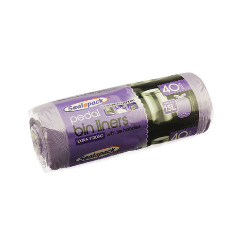 Fragranced 15L Pedal Bin Liners - 40 Pack
