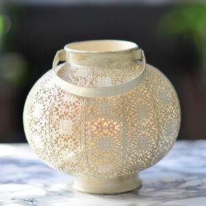 Rustic White Lantern