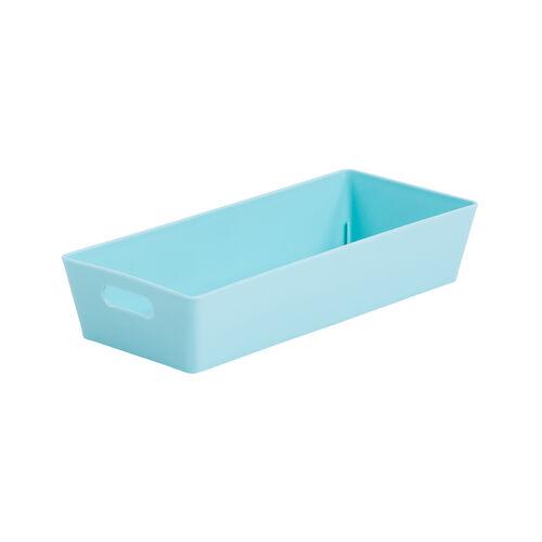 Studio Rectangular Basket 1L - Duck Egg Blue