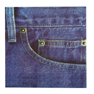 Denim Napkins 20 Pack