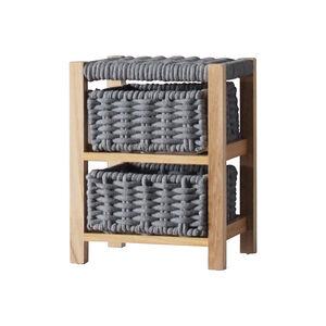 Classic Knit 2 Drawer Unit - Grey