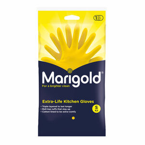 Marigold Kitchen Gloves Small