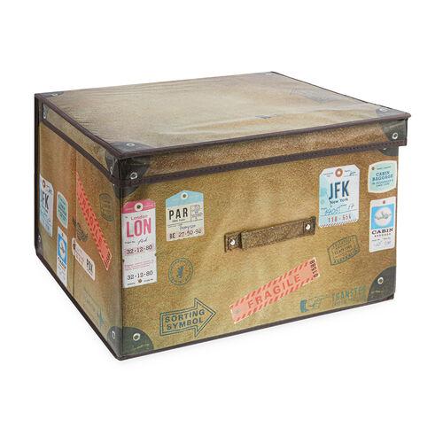 Vintage Travel Foldable Storage Chest