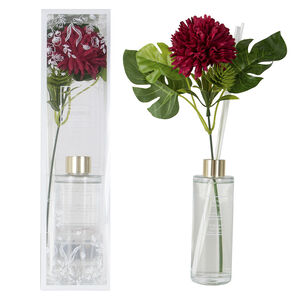 Ambianti Black Forest Faux Flower Reed Diffuser