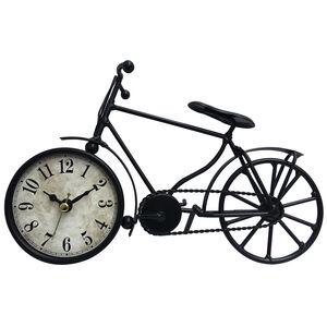 Bicycle Metal Table Clock