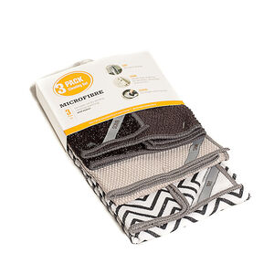 3Pk Microfibre Cloth Set