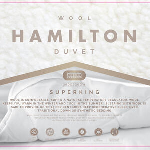 Hamilton Wool Duvet Super King