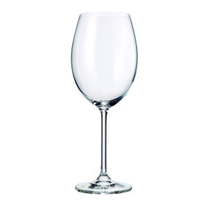 Bohemia Natalia Bordeaux Glasses 4 Pack